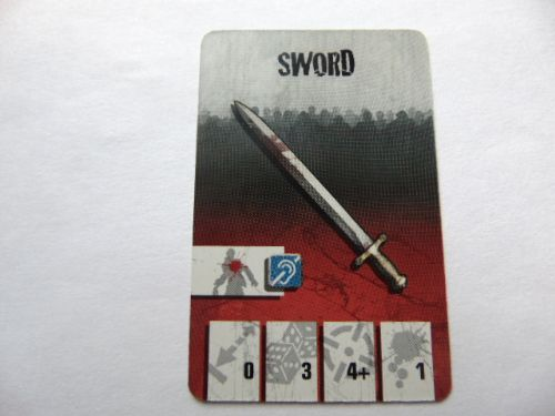 survivor equipment card (sword)